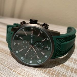 Kenneth Cole Reaction Green Mens Watch